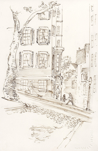 Sketch no. 8 beacon hill