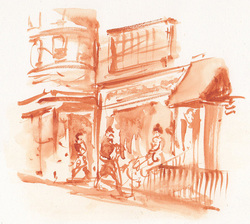 Sketch no. 10 north end